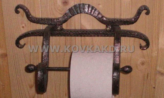От Ковка КД кованый держатель для туалетной бумаги