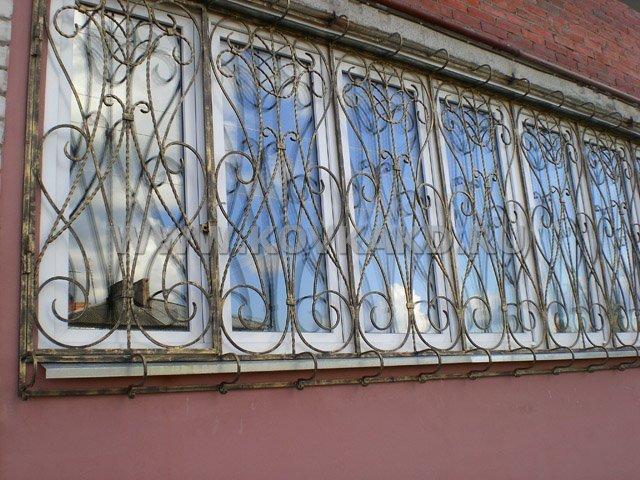От Ковка КД решётка на балконное окно
