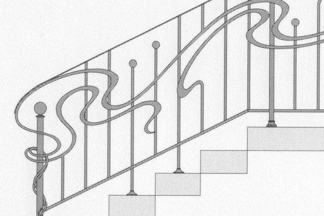 От Ковка КД кованая лестница, эскиз