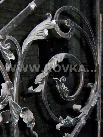 От Ковка КД фрагмент кованых элементов исполненных в перилах