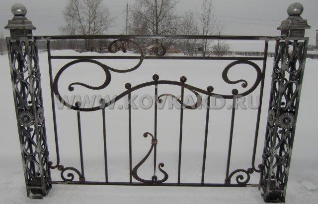 От Ковка КД фрагмент балконного ограждения
