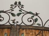 Фрагмент кованых ворот - верх.
